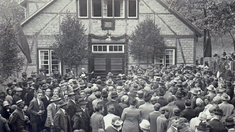Einweihung TVL-Turnhalle  - 19. Juni 1927
